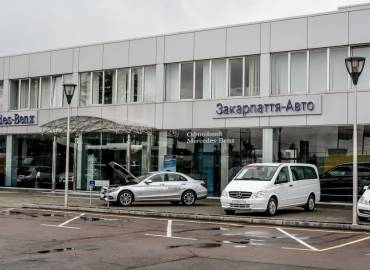 "Автосалон ""Mersedes-Benz"", Ужгород"