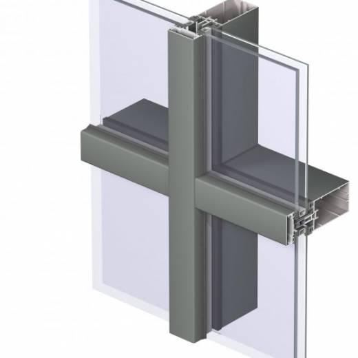 Стійково-ригельний фасад
